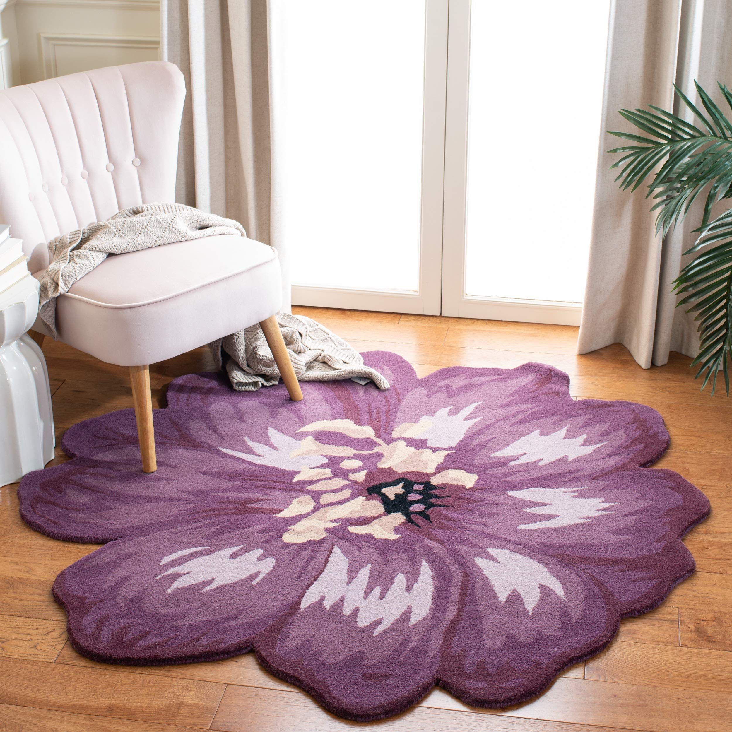Safavieh Novelty Collection NOV254A HandKnotted Lilac