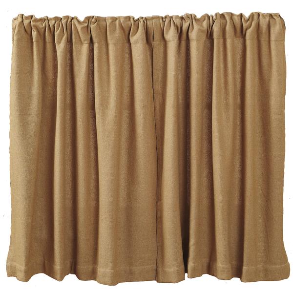 Burlap Natural Tier Curtains 36 Quot Products Burlap