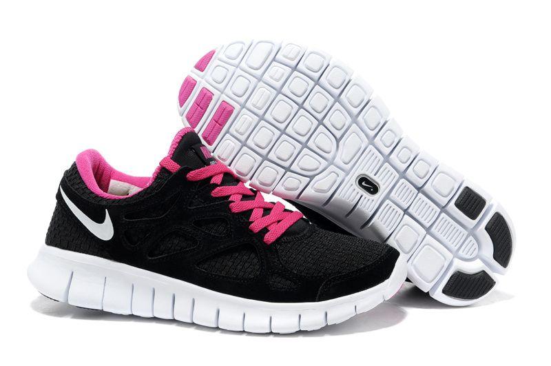 2015 Sale Shoes Halfoff Nike Free Run 2 Woven Black Pink Women's Running  Shoes