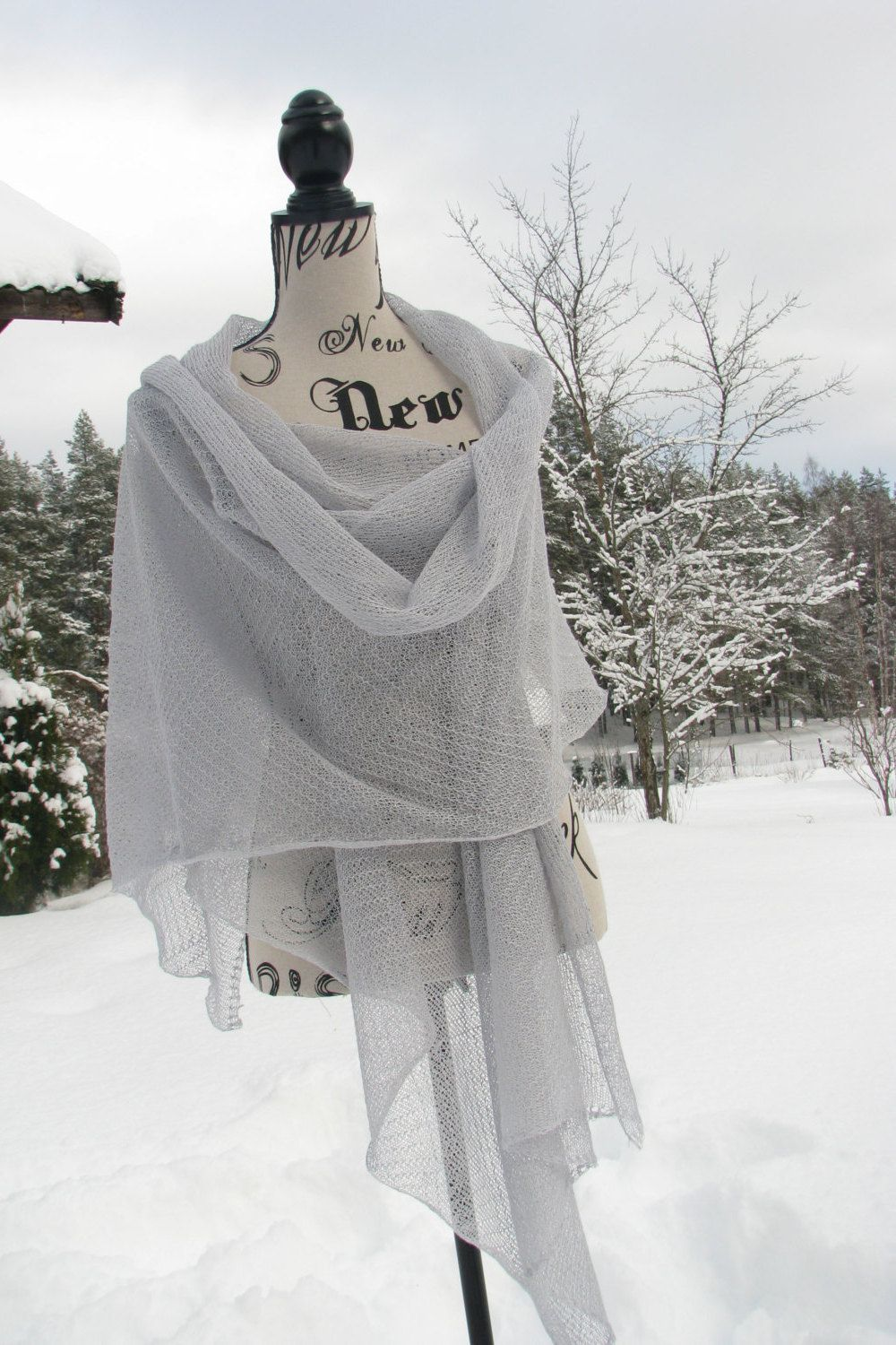 Handmade Shawls Linen Flax Eco friendly Scarf Fancy Wrap Gift for Her from 100% natural linen Air schal Summer openwork Scarf Shawl Beach by PonchoShawlScarves on Etsy