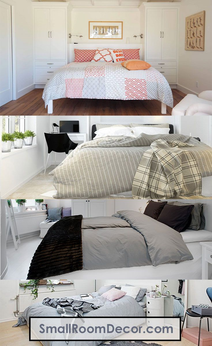 9 Modern Small Bedroom Decorating Ideas [Minimalist style on a budget]