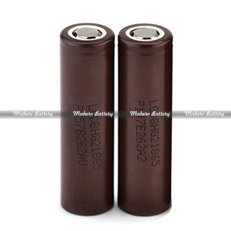 best vape battery LG 18650 3 7v 3000mAh 20A real high amp