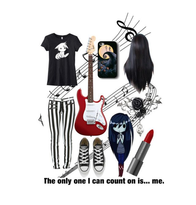 """Marceline"" by lillymairejonshon ❤ liked on Polyvore featuring Converse"