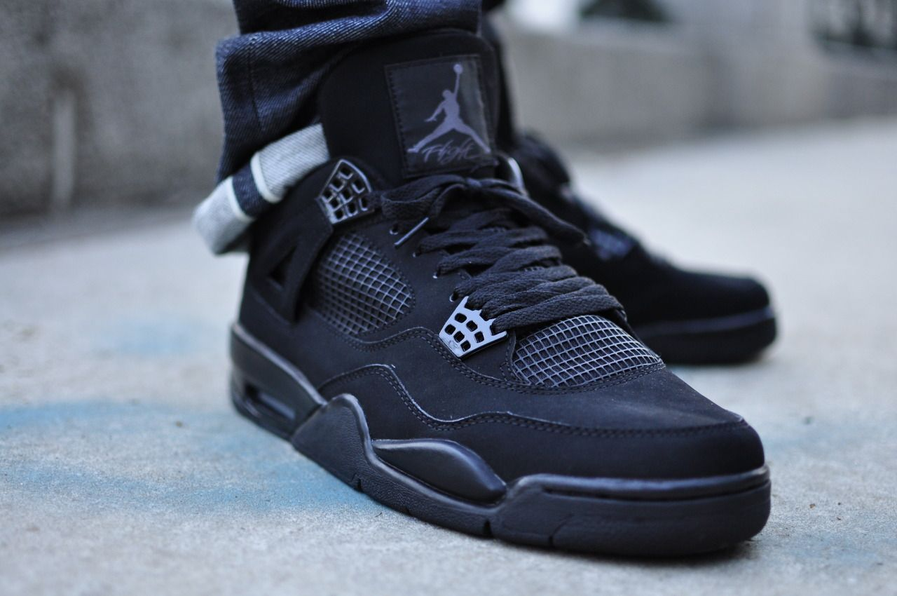 Air Jordan Iv Black Cat | Shoes | Air jordans, Jordans, Air