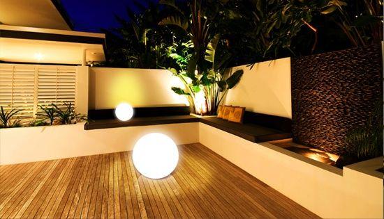 Faire la lumière dans son jardin Les lumières, Fait le et Lumières - faire une terrasse pas cher