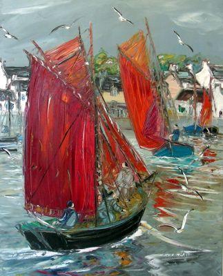 Christian Sanseau Expose A L Atelier De Roeck Peintre Artiste