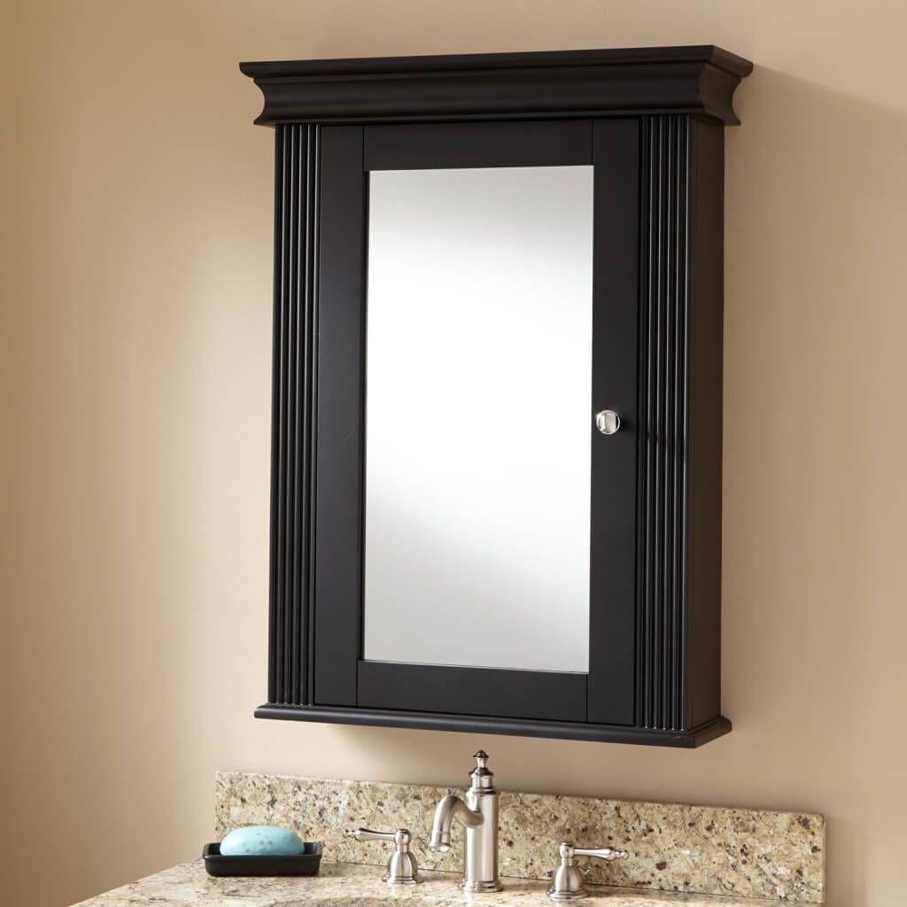 Bathroom Medicine Cabinets Mirrors Kohler Bathroom Mirror Cabinet Black Cabinets Bathroom Bathroom Mirror