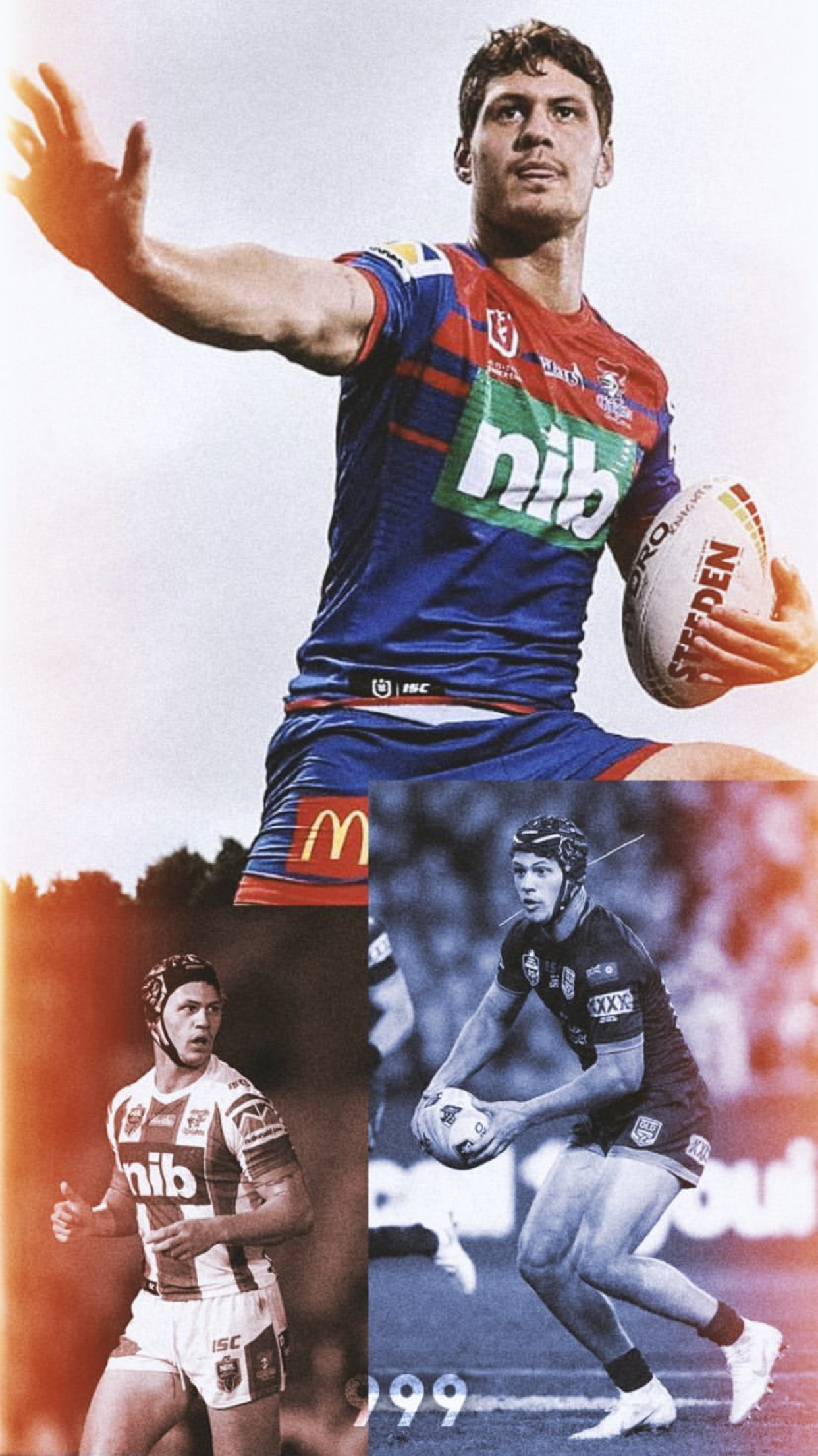 Pin By Kay1ah On Kalyn Ponga Rugby League Newcastle Knights Nrl