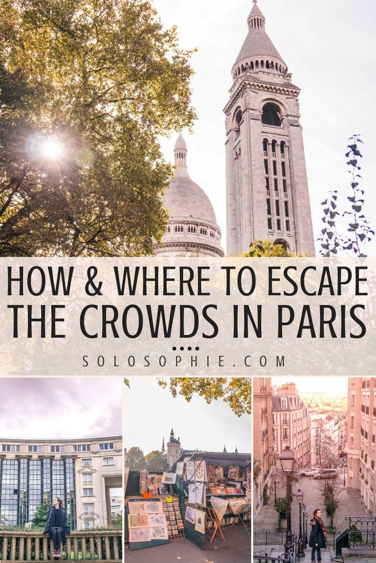 10 Spots Where You Can Really Escape the Crowds in Paris is part of Spots Where You Can Really Escape The Crowds In Paris - 10 places where you can escape the crowds in Paris, and get to know the city on a local level because it's always nice to stray from the beaten path