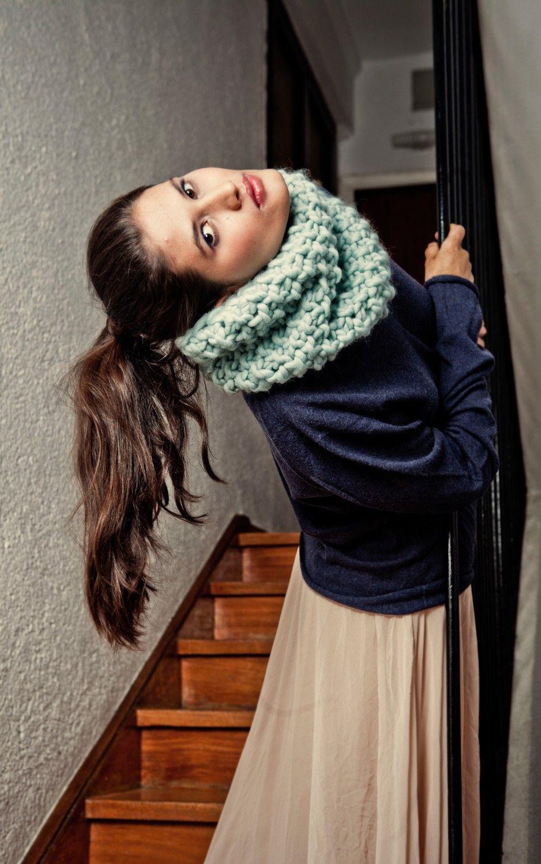 Downtown Snood Buy Wool Needles Yarn Rundschals Buy Wool
