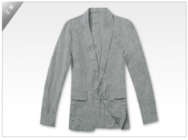 814555d8046f Single buckle thin slim fit blazer men suit linen jacket summer khaki male  jacket new design suits man top fashion blazers 2XL