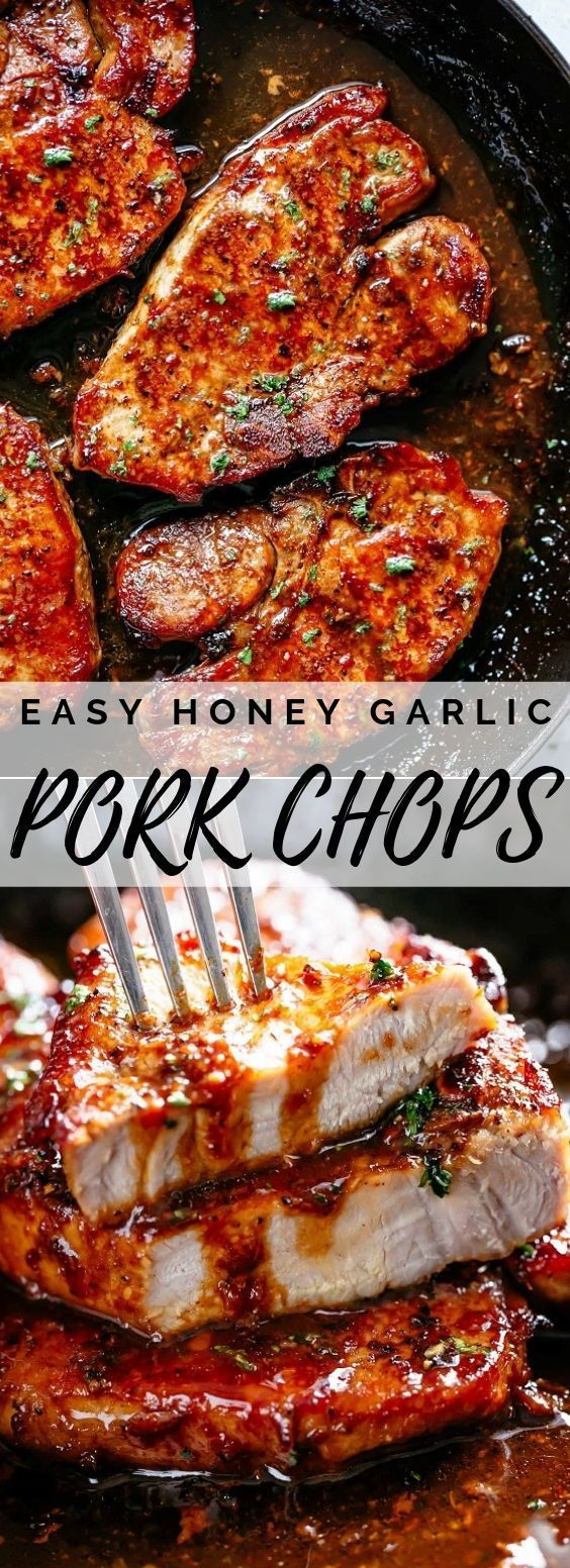 Easy Honey Garlic Pork Chops images