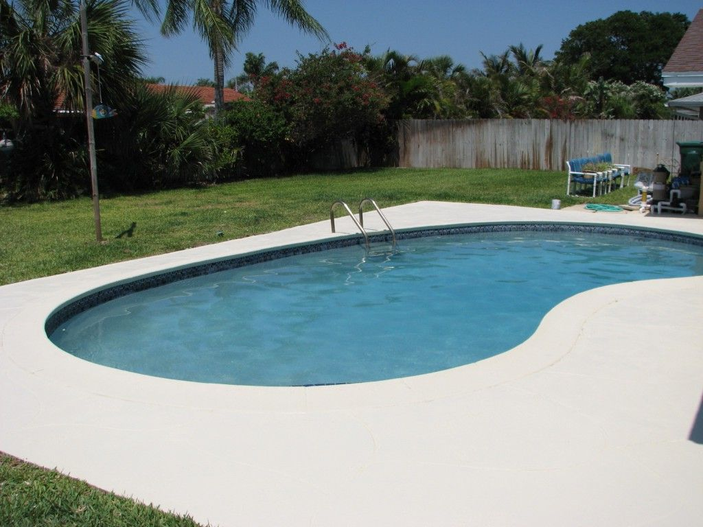 Best Paint For Concrete Pool Deck And Pool Decks Armorpoxy Deck Paint Painted Patio Painted Pool Deck