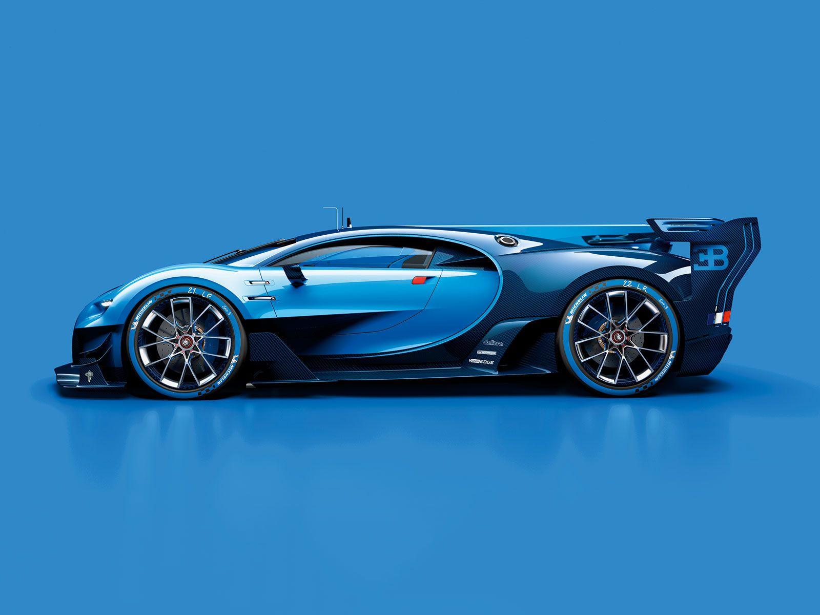 Bugatti Vision Gran Turismo Concept Bugatti Concept Cars
