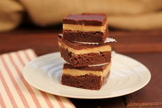 Peanut Butter Truffle Brownies - oh my!