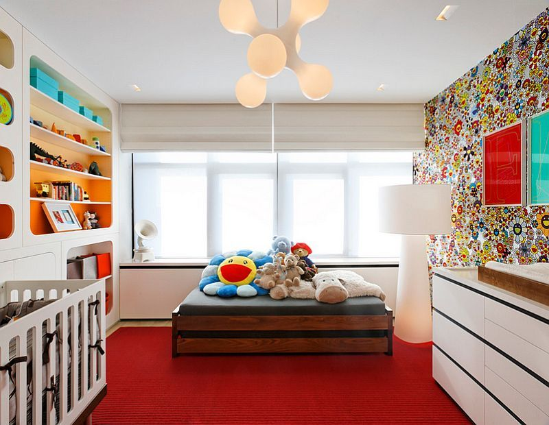 Interior Painting Techniques Ideas Part - 44: Ombre Shelves. Ombre Wall Painting Kids Room How To Implement The Ombré  Home Painting Technique