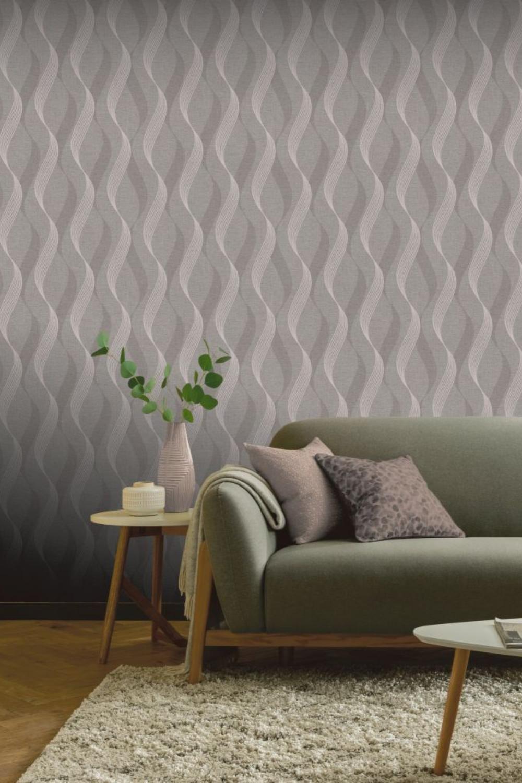 Luxe Ribbon by Arthouse - Mocha - Wallpaper : Wallpaper ...