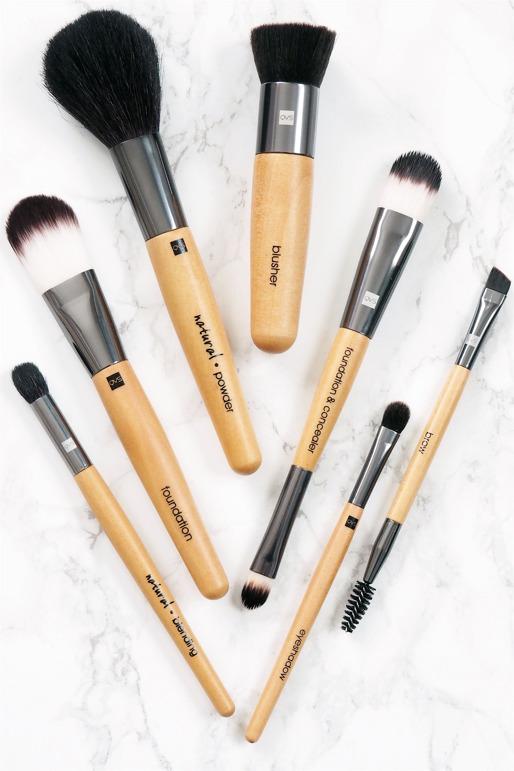 QVS Brush Reviews & Giveaway Makeup, Beauty, Makeup brushes