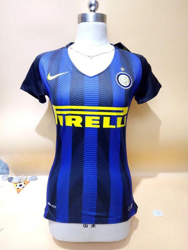 pretty nice 418f0 ad5e7 Inter Milan Women Home Soccer Jersey | Women Soccer Jersey ...