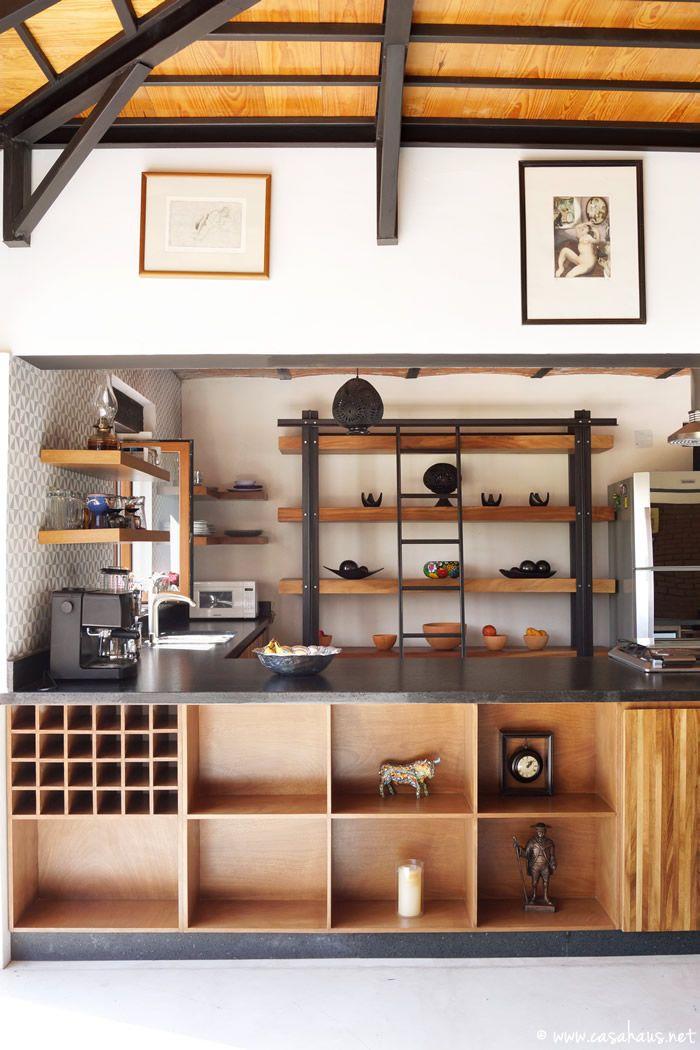 Renovación de cocina estilo rústico industrial   Shelving, Kitchens ...