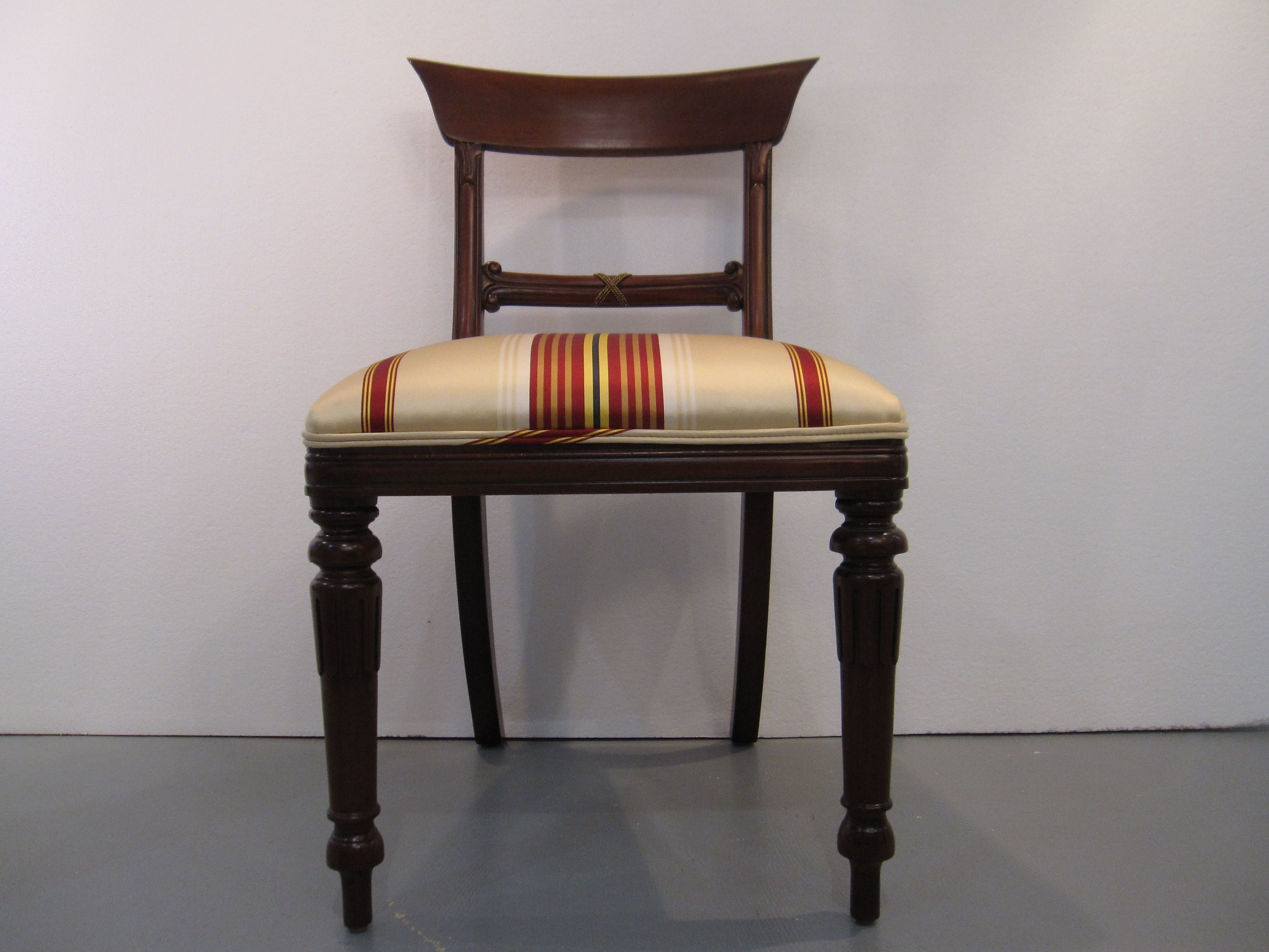 Maitland Smith Regency Chairs Eisenhower Consignment