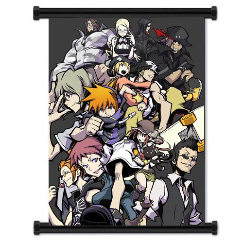 The world ends with you video game fabric wall scroll poster 16 x the world ends with you game fabric wall scroll poster inches awesome product click the image diy do it yourself today solutioingenieria Image collections
