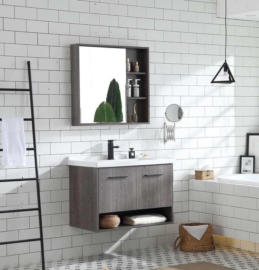 32inch Bathroom Vanity With Medicine Cabinet Storage Bathroom