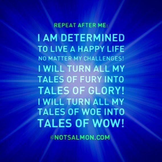 Mantra quotes, Words, Happy life