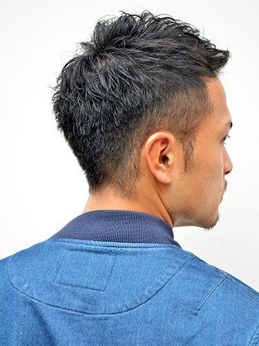 ツーブロック パーマ 薄毛にも メンズ ビューティーboxヘア