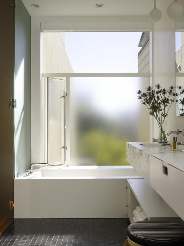 Frosted Glass Window For Privacy Design Inspiration Bathrooms In 2019 Pinterest Bathroom