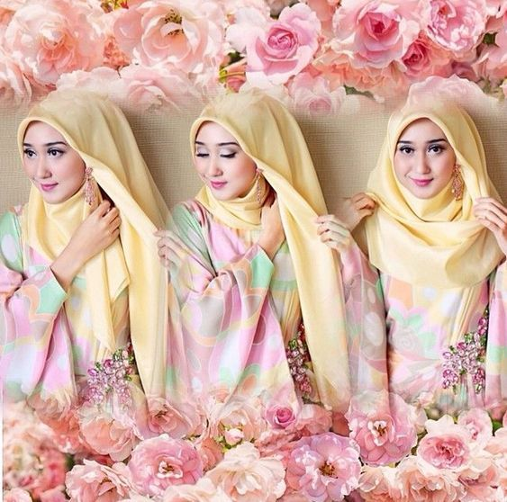 33 Ide Tutorial Hijab Wisuda Pesta Terbaik Kursus Hijab Gaya Hijab Hijab