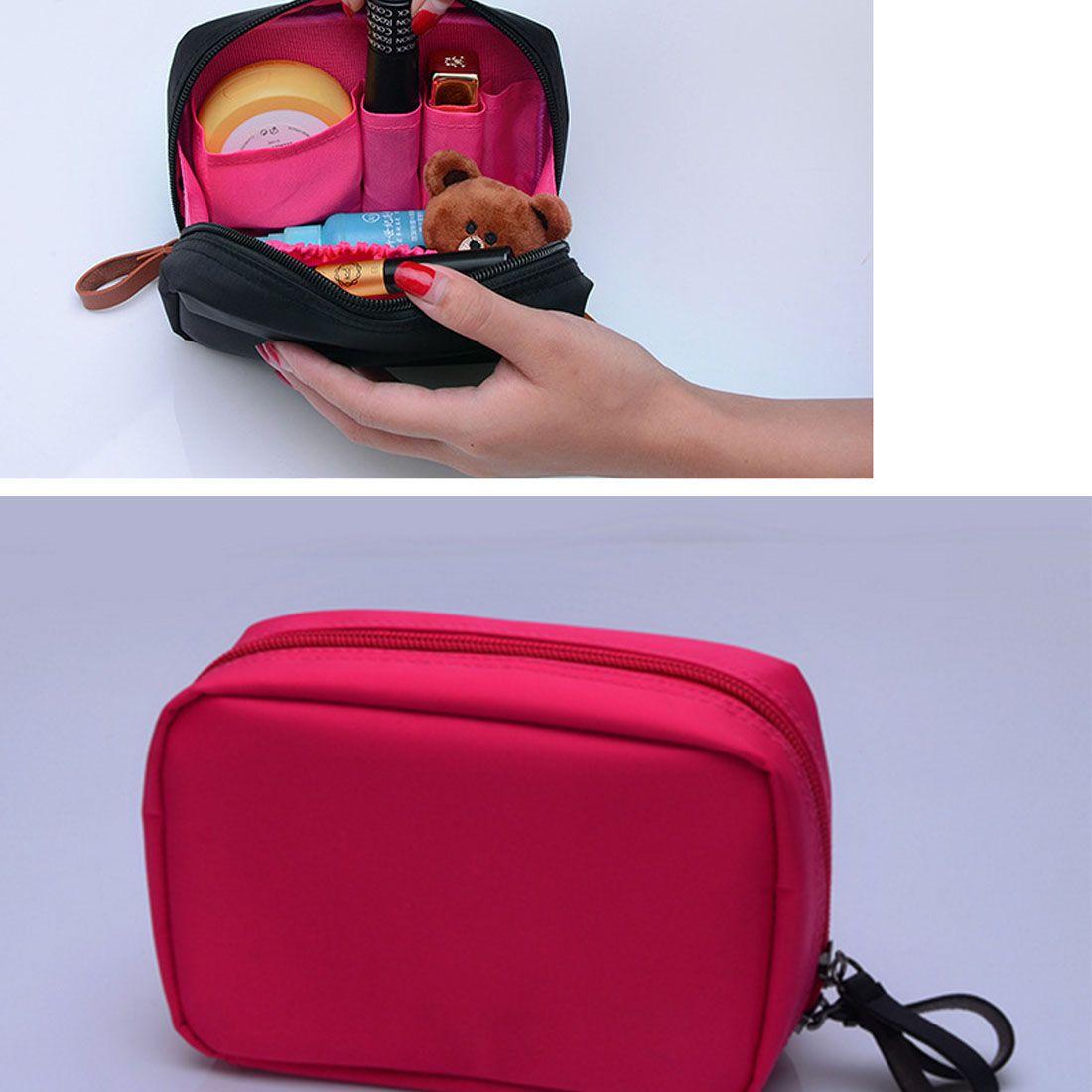 aff2cb58cf Bargin Small Cosmetic Bags Makeup Bag Women Travel Toiletry Bag  Professional Storage Brush Organizer Necessaries Make