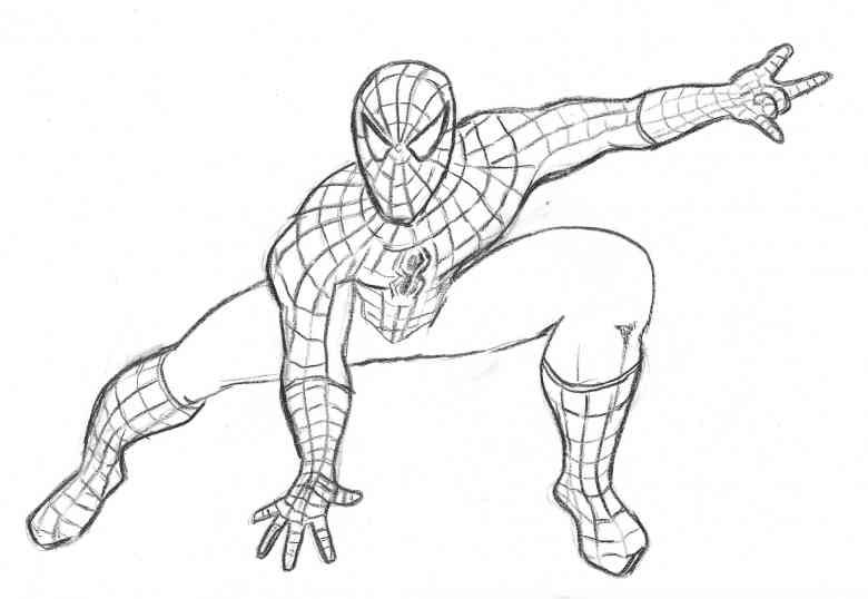 Spiderman ausmalbilder - Ausmalbilder für kinder