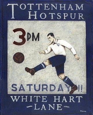 Old Poster | Tottenham Hotspur Football Club
