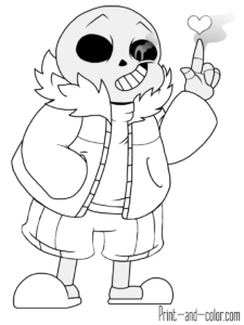 Undertale Free Coloring Pictures Coloring Pictures Coloring Pages