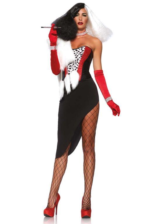 Deguisement Cruella D 39 Enfer Costumes For Women Halloween Women Sexiest Costumes