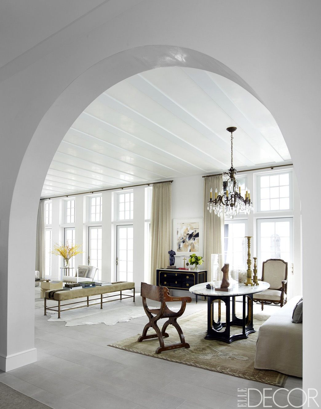 HOUSE TOUR: A Florida Home With Gorgeous Exotic Touches   Marble top ...