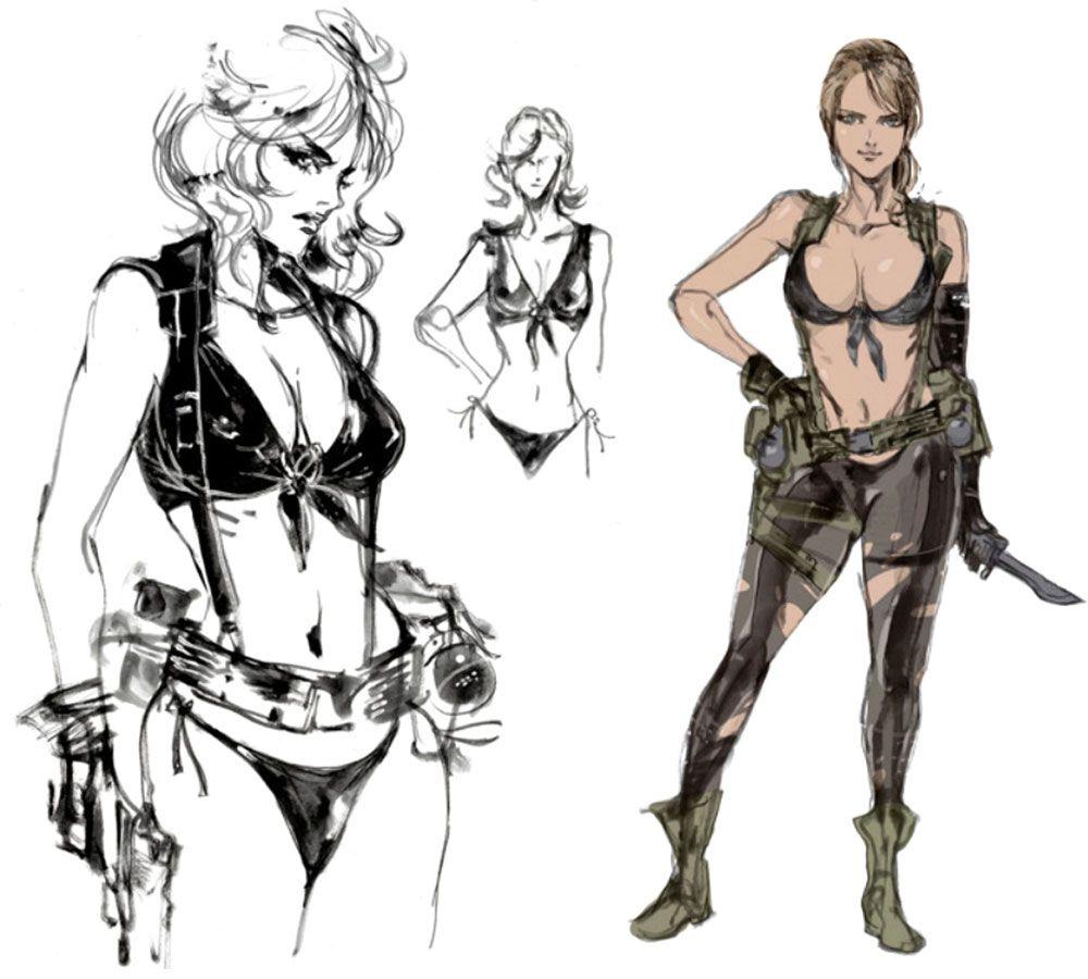 Metal Gear Solid V - Quiet | Art | Pinterest | Metal gear, Metal ...