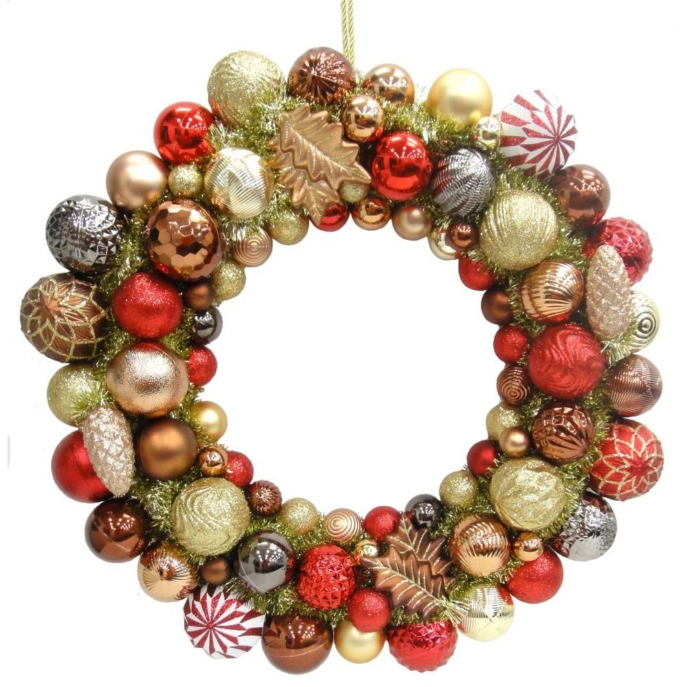 Martha Stewart Living Snowberry 24 in. Shatter-Resistant Ornament ...
