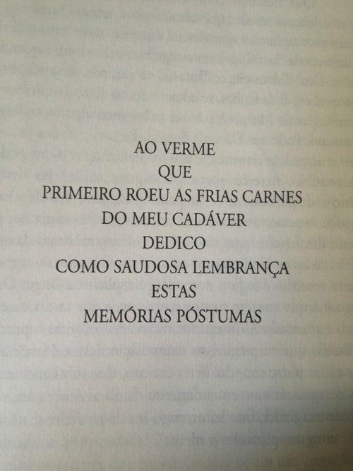 Memórias Póstumas de Brás Cubas ~Machado de Assis