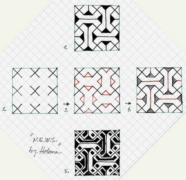 NEWS  Tangled Graph Paper And Zentangles