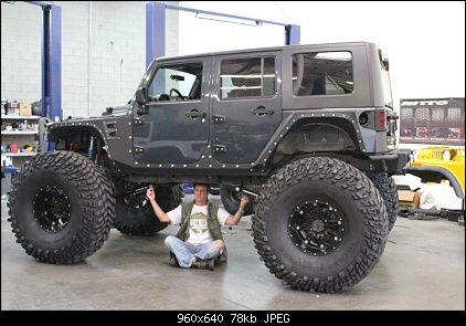 Biiiiiig Lift Tires Are 54x19 5x20 Jeep Badass Jeep Jeep Wrangler Forum