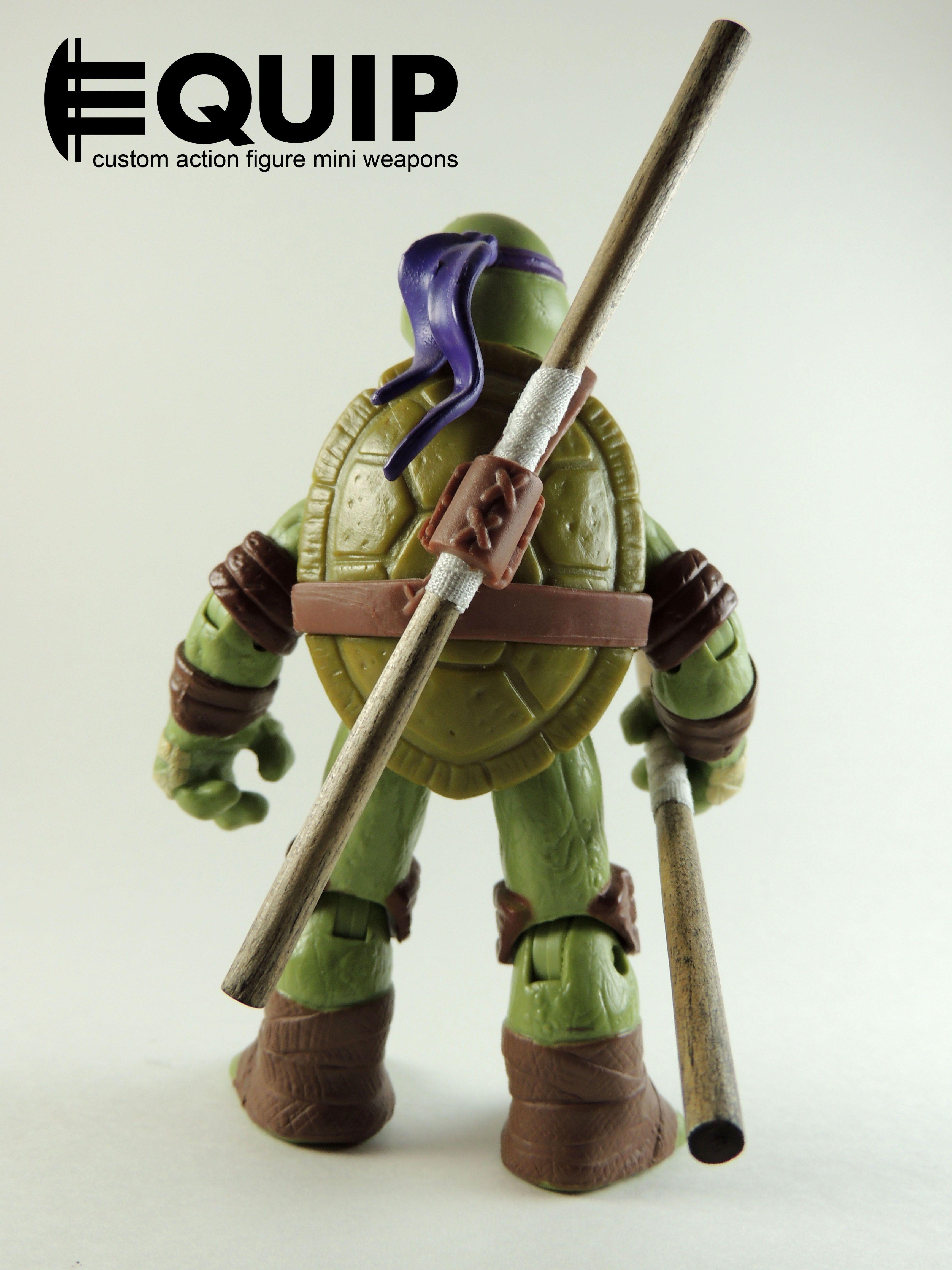 Teenage Ninja Mutant Turtles DONATELLO Bo Staff by Nickelodeon Cowabunga