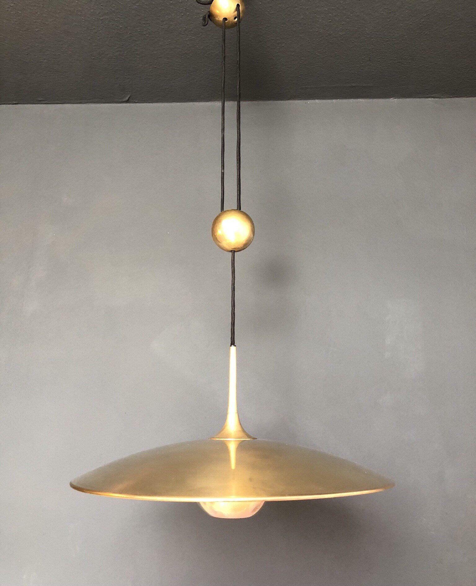 Florian Schulz Onos55 Counterbalance Pendant Light Mid Century Modern 1970S