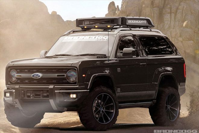 2020 Ford Bronco Rendering From Bronco6g Is This It Ford