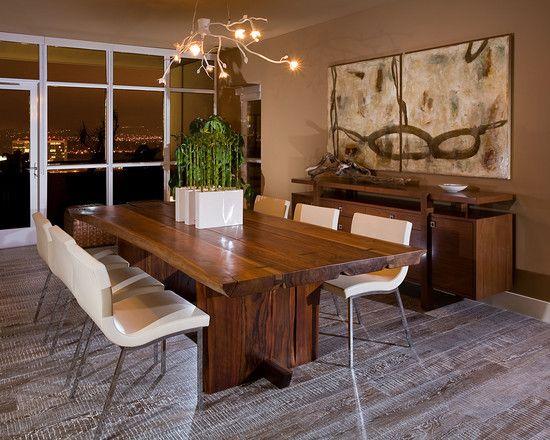 Fotos E Preço De Mesa Tora De Madeira Brasil  Casa & Decoração Fascinating Everyday Dining Room Table Centerpiece Ideas 2018