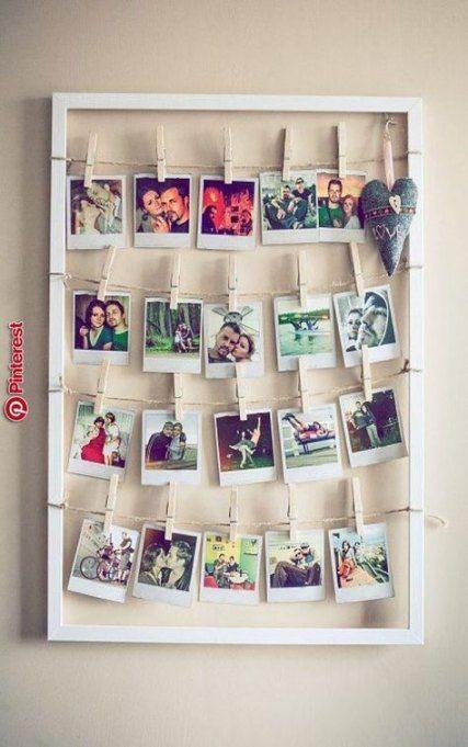 New Wall Decored Bedroom College Polaroid Ideas Diy Room Decor For Teens Room Diy Diy Room Decor