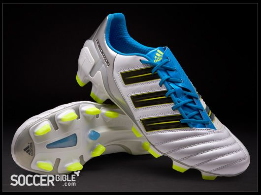 adidas adipower Predator Football Boots - White/Blue/Electricity - Football  Boots