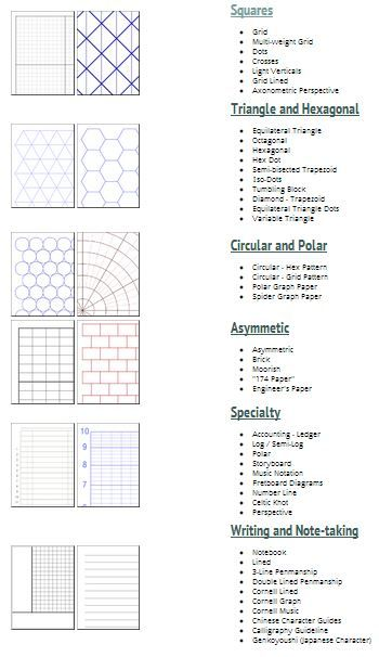 AWESOME CUSTOM GRAPH PAPERS! 1) Go to    incompetech - graph papers