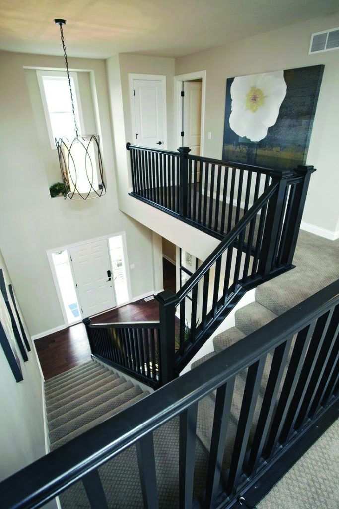 Best Advanced Creative Stair Railing Ideas You Ll Love In 2020 New Homes Home Painted Stair Railings 640 x 480